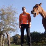 Ontspannen met je paard - grote gaap